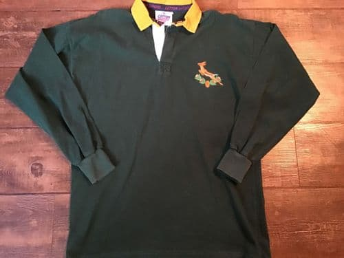 1980s South Africa Rugby Union Shirt Large