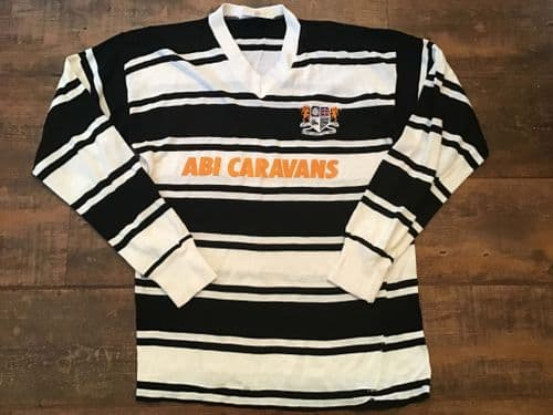 1985 1986 Hull FC Rugby League Shirt Small
