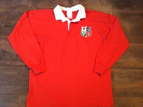 1986 British and Irish Lions L/s Rugby Union Shirt Medium