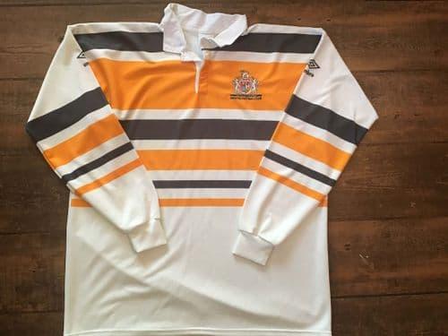 1990 1991 Bristol Rugby Union Shirt 2XL
