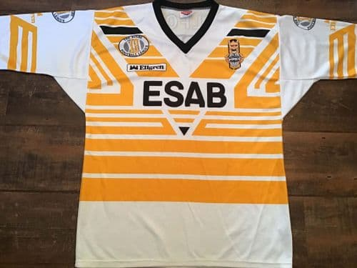 1990 1991 Salford Rugby League Away Shirt Large