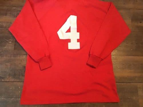 1990s Canada U23 Player No 4 Rugby Shirt XL