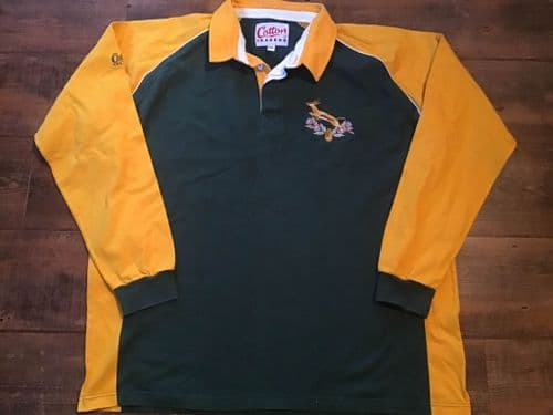 1992 1995 South Africa Rugby Union Training Shirt 2XL