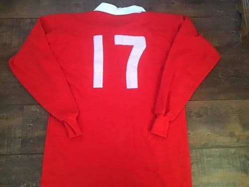 1993 British and Irish Lions No 17 Player Issue Rugby Union Shirt Large