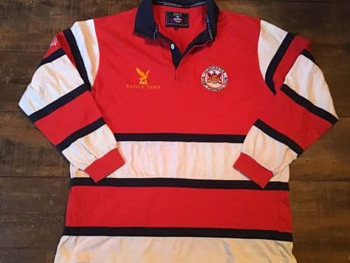 1995 1996 Gloucester L/s Rugby Shirt Adults XL