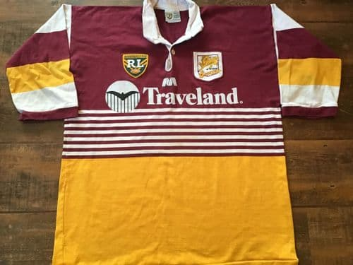 1995 Brisbane Broncos Rugby League Shirt 2XL