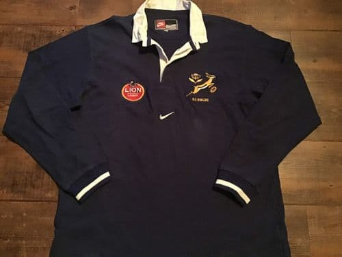 1996 1997 South Africa Rugby Union L/s Training Shirt 2XL