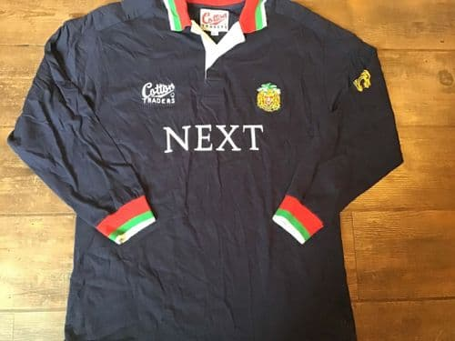 1997 1998 Leicester Tigers Rugby Away Shirt Large