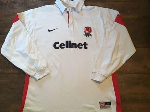 1997 1999 England Rugby Union Shirt XL 2XL