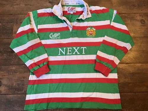 1997 1999 Leicester Tigers Rugby Union Shirt Large
