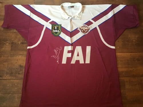 1998  1999 Manly-Warringah Sea Eagles Rugby League 2XL