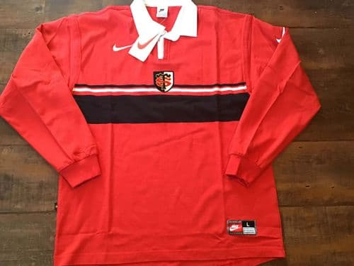 1998 1999 Stade Toulousain Toulouse BNWT Rugby Shirt Large XL