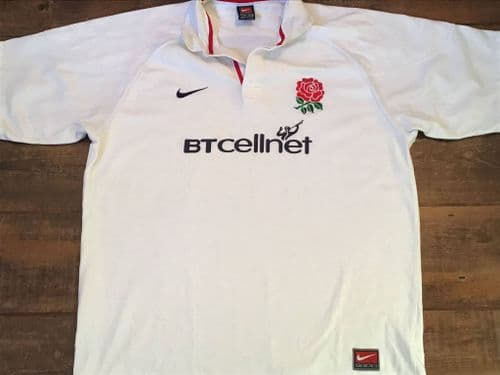1999 2001 England S/s Rugby Union Shirt XL