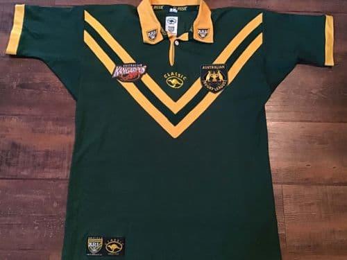 2000 2001 Australia Rugby League Shirt XL