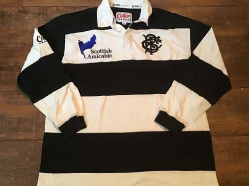 2000 2001 Barbarians Rugby Union Shirt XL