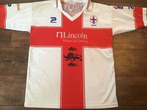 2000  England World Cup Rugby League Shirt Medium