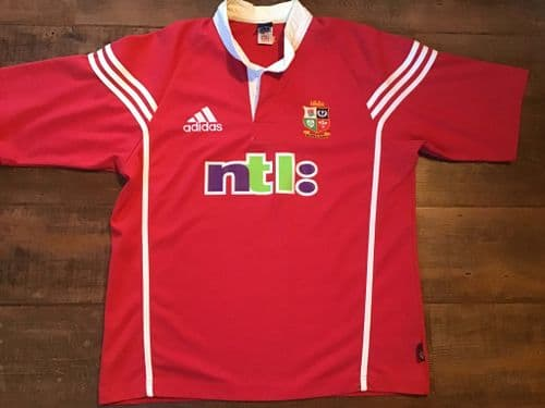 2001 British and Irish Lions S/s Rugby Union Shirt Large  XL