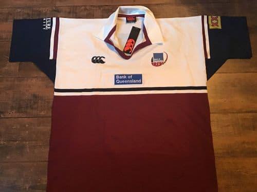 2001 Queensland Reds BNWT Rugby Union Shirt 2XL XXL