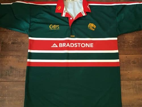 2002 2003 Leicester Tigers Player issue Rugby Union Shirt 2XL