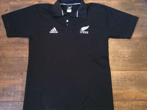 2002 2003 New Zealand S/s Rugby Union Shirt Adults Medium All Blacks