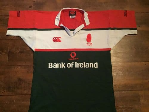 2002 2004 Ulster Rugby Union Shirt Adults Medium