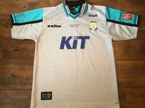 2002 Hull FC Boulevard Rugby League Away Shirt Large