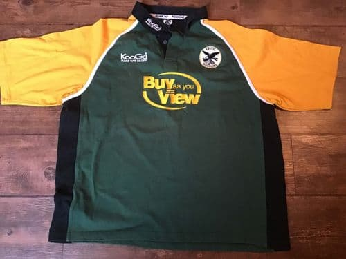 2003 2004 Celtic Warriors Rugby Union Shirt 2XL