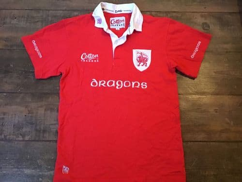 2003 2004 London Welsh Rugby Shirt Small