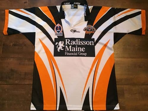 2003 Wests Tigers Rugby League Shirt Large