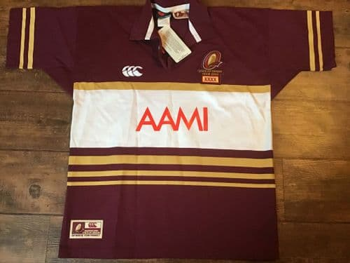 2004 Queensland BNWT State of Origin Rugby League Shirt Large XL