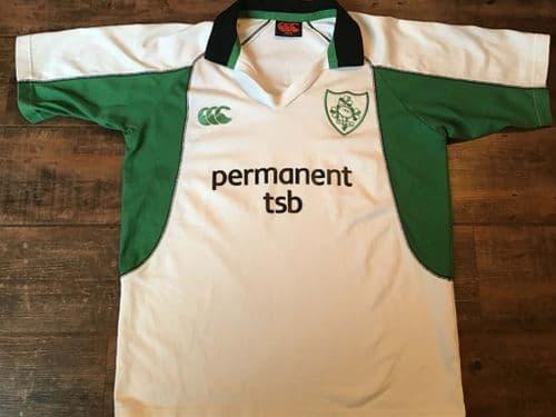 2005 2006 Ireland Rugby Union Away Shirt Medium M