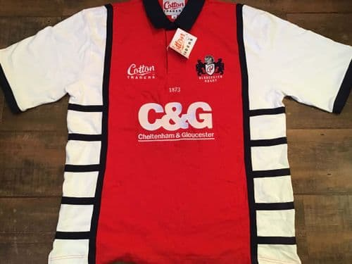 2005 2007 Gloucester BNWT Home Rugby Union Shirt XL