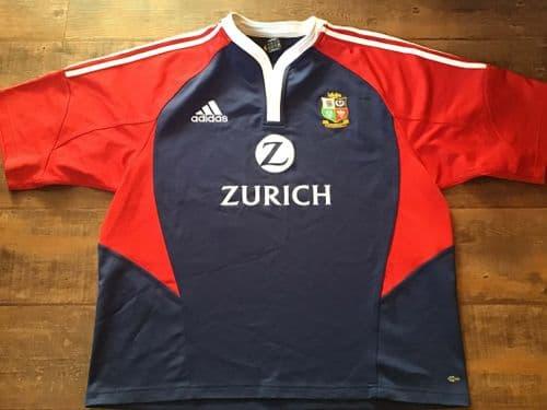 2005 British and Irish Lions Rugby Shirt Adults XXL 2XL
