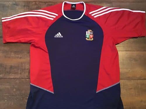 2005 British and Irish Lions Rugby Training Shirt XL