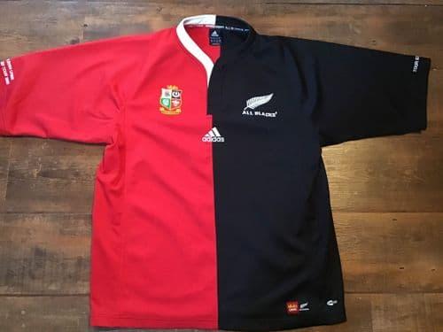 2005 British & Irish Lions New Zealand Rugby Union Shirt Large