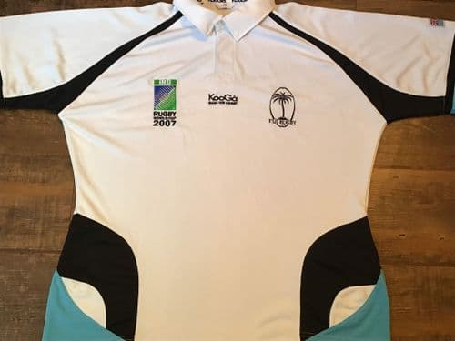 2007 Fiji World Cup Rugby Union Shirt Large