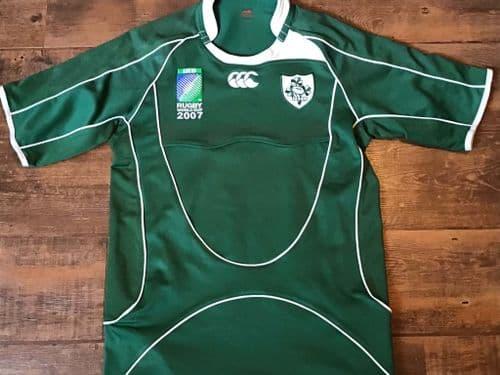 2007 Ireland World Cup Pro Rugby Union Shirt Medium