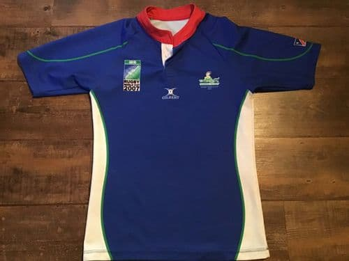 2007 Namibia World Cup Rugby Union Shirt Medium