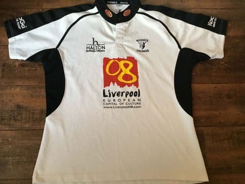 2007 Widnes Vikings Rugby League Shirt 2XL