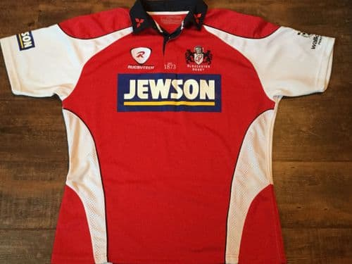 2008 2009 Gloucester Rugby Union Shirt Adults XXL 2XL