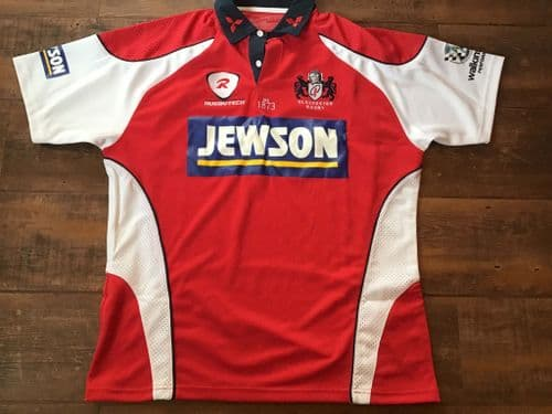 2008 2009 Gloucester Rugby Union Shirt XL