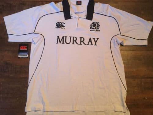 2009 2010 Scotland  New S/s Rugby Union Away Shirt 2XL XXL