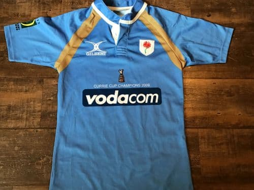 2009 Blue Bulls Currie Cup Champions Rugby Union Shirt Adults Small