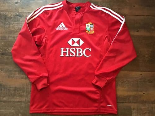 2009 British and Irish Lions L/s Rugby Union Shirt Small