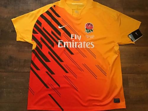 2010 2011 England BNWT Sevens Rugby Union Shirt Large