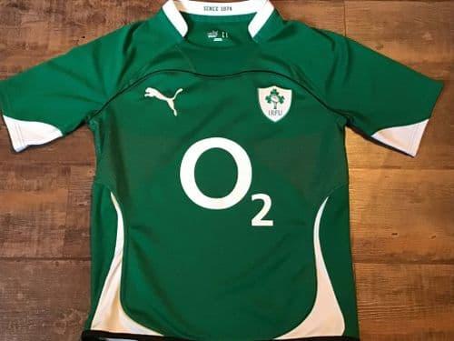 2010 2011 Ireland Rugby Union Home Shirt Adults Medium