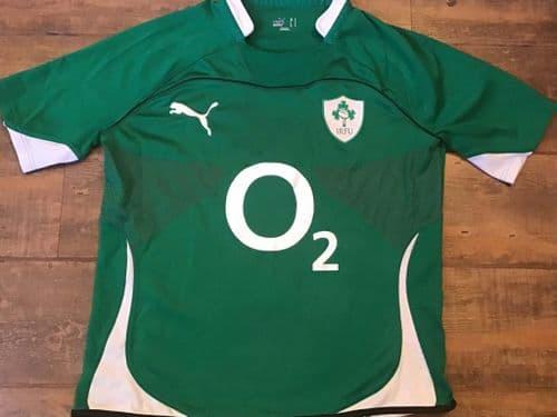 2010 2011 Ireland Rugby Union Shirt Large