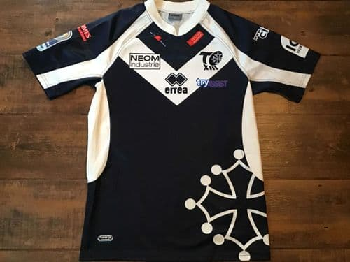 2010 2011 Toulouse Olympique Rugby League Shirt Large
