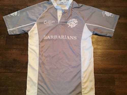 2011 2012 Barbarians Player Issue Rugby Union Training Shirt Large