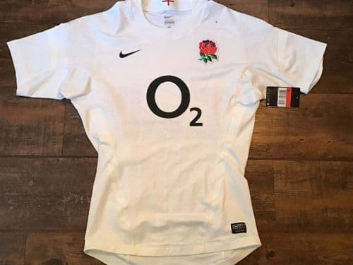 2011 2012 England BNWT Player Issue Rugby Union Shirt Large